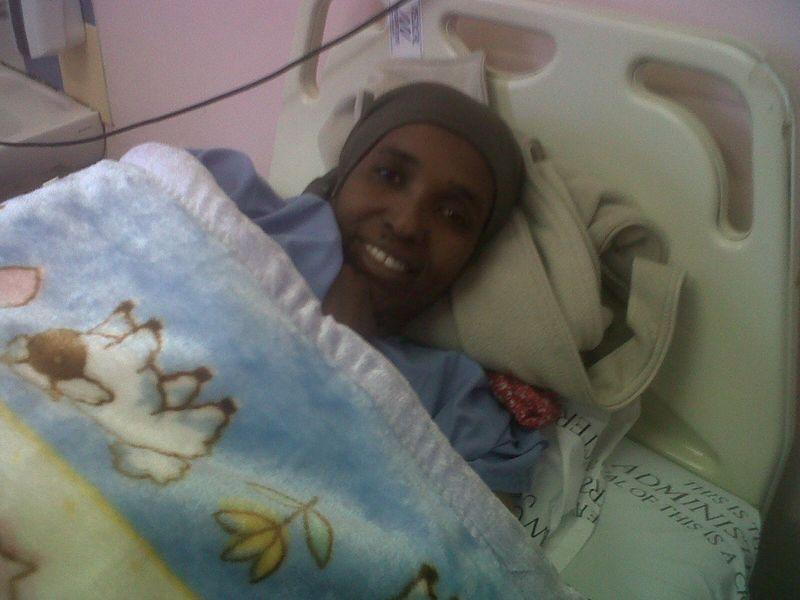 Somalian mama of 8
